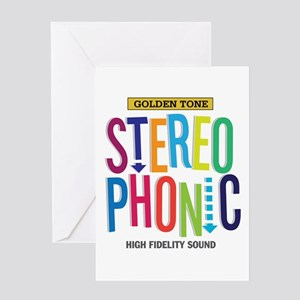 Stereophonic Greeting Card