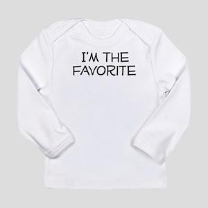 I'm the Favorite Long Sleeve Infant T-Shirt