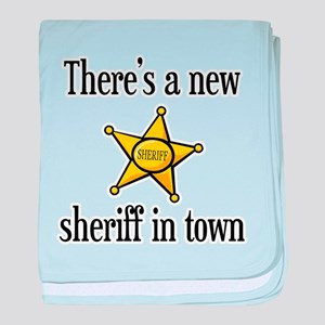 New Sheriff in Town Infant Blanket