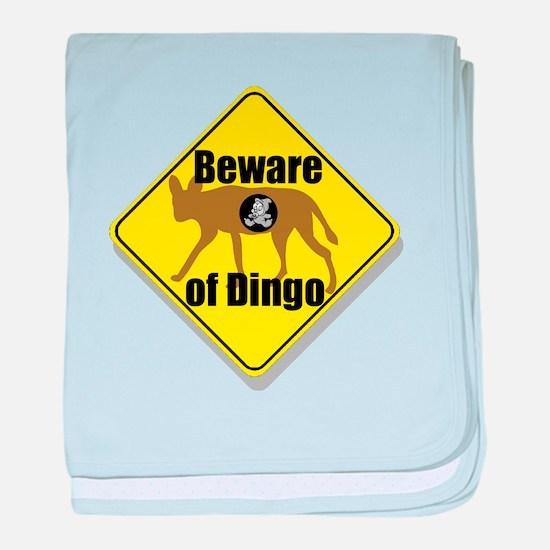 Beware of Dingo! Infant Blanket