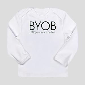 BYOB-bottlefeeding Long Sleeve Infant T-Shirt