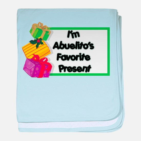 Abuelito's Favorite Present Infant Blanket