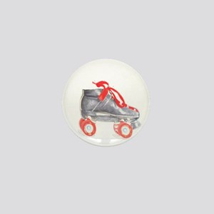 Skate Mini Button