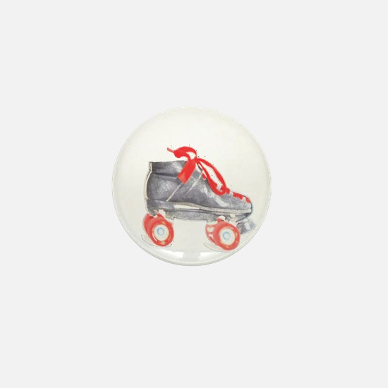 Skate Mini Button