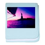 Statue of Liberty NYC Baby Blankie Infant Blanket