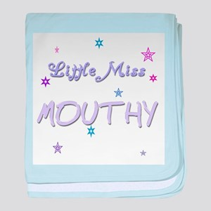 Miss Mouthy Infant Blanket
