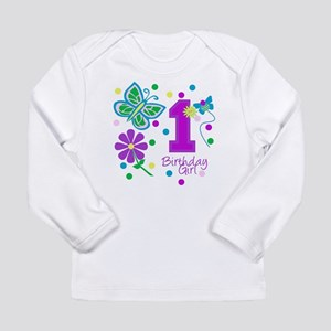girlbirthday copy Long Sleeve T-Shirt
