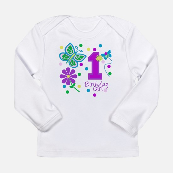 girlbirthday copy Long Sleeve T-Shirt