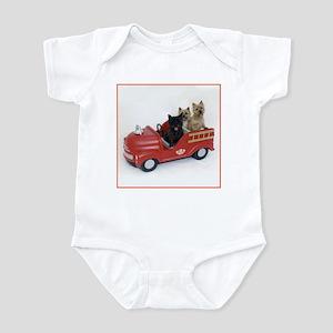 CairnTerrier Fire Crew Infant Bodysuit