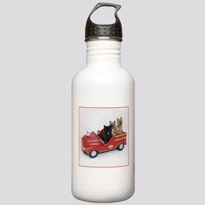 CairnTerrier Fire Crew Stainless Water Bottle 1.0L