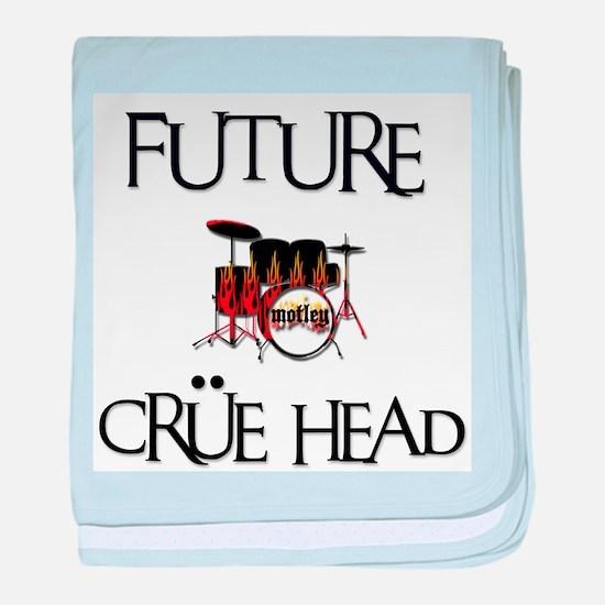 Future Crue Head Infant Blanket