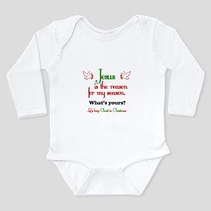 Jesus Is The Reason Long Sleeve Infant Bodysuit