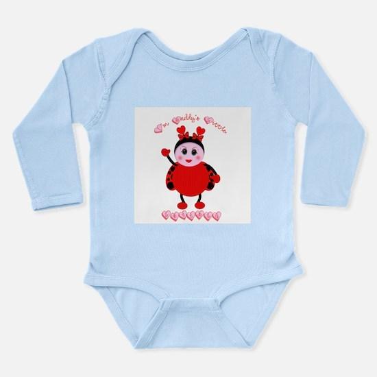 Daddy's Lovebug Onesie Romper Suit