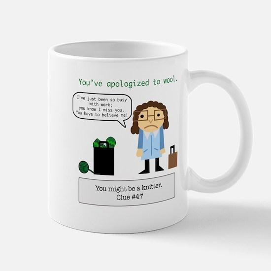 Cute Apologize Mug
