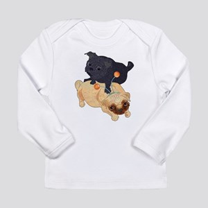 Deelybopper Pugs Long Sleeve Infant T-Shirt