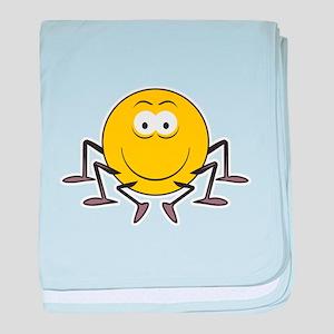 Spider Smiley Face Infant Blanket
