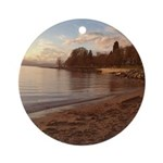 English Bay, Vancouver BC Round Ornament