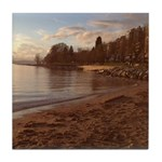 English Bay, Vancouver BC Tile Coaster