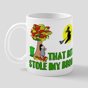 Stole My Broom Mug