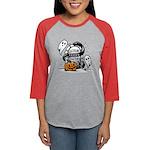 Creepy Womens Baseball Tee Long Sleeve T-Shirt