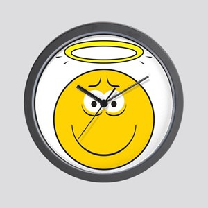 Angel Smiley Face Wall Clock