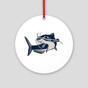 catfish Ornament (Round)