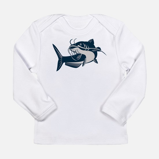 catfish Long Sleeve Infant T-Shirt