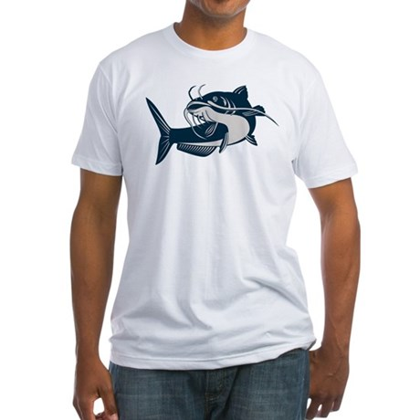 catfish Fitted T-Shirt