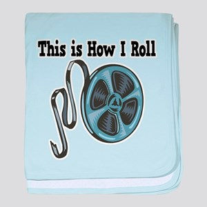 How I Roll (Movie Film) Infant Blanket