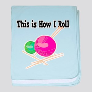 How I Roll (Yarn) Infant Blanket