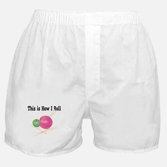 How I Roll (Yarn) Boxer Shorts