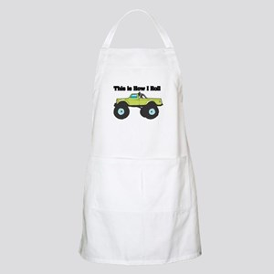 How I Roll (Monster Truck) Apron