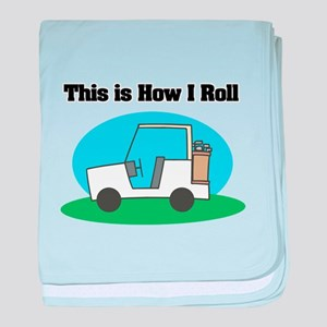 How I Roll (Golf Cart) Infant Blanket
