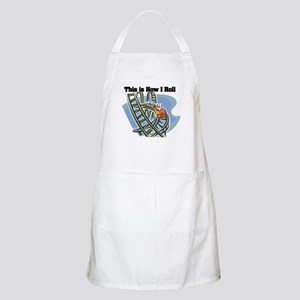 How I Roll (Roller Coaster) Apron