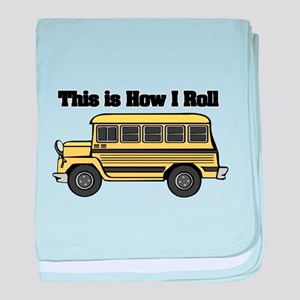How I Roll (Short Yellow Scho Infant Blanket