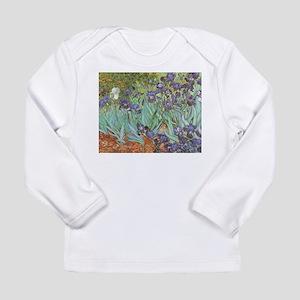 Van Gogh Irises Long Sleeve Infant T-Shirt