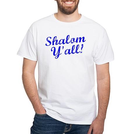 Shalom, Y'all! White T-Shirt