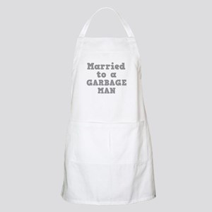 Married to a Garbage Man Apron