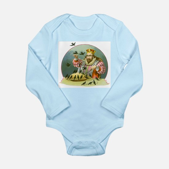 Sing a Song of Six Pence Long Sleeve Infant Bodysu