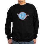 Retro Glasses Design Sweatshirt (dark)
