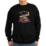 Retro Atomic Billiards Pool H Sweatshirt (dark)