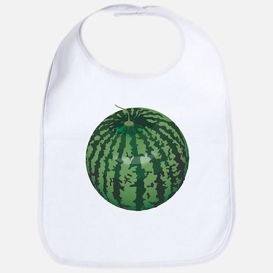Funny Watermelon Belly Bib