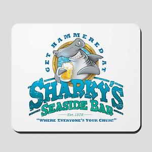 Sharky's Seaside Bar Mousepad