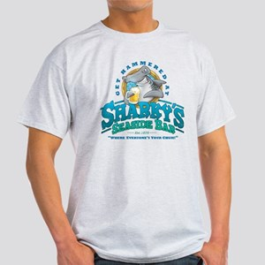 Sharky's Seaside Bar Light T-Shirt