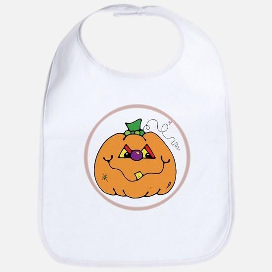 Little Pumpkin Belly Bib