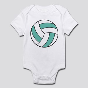 Funny Volleyball Belly Infant Bodysuit