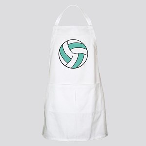 Funny Volleyball Belly Apron