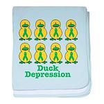 Depression Awareness Ribbon D Infant Blanket