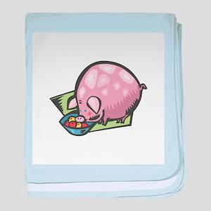 Pot Belly Piggy Infant Blanket