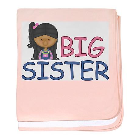 Big Sister Girl Infant Blanket